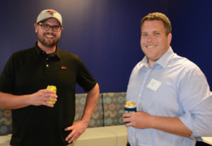 Pictured (LtoR) Justin Rockett, Horsetail Technologies program coordinator; and Bennett Carroll, Brown Advisory institutional portfolio analyst