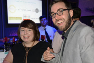 Pictured (LtoR) Leah Huete, L. Hewitt Photography owner/photographer; and Marc Huete, DC area information security officer