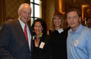 Pictured (LtoR) Earl Linehan, founder/board member/event co-host; Darielle Linehan, retired bookseller; Alison Zaneski, Nurturing Nature acupuncturist; and John Berndt, The Berndt Group CEO