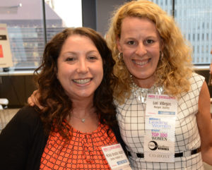 Pictured (LtoR) Michele Bresnick Walsh, Gordon Feinblatt partner; and Lori Villegas, event co-host