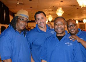 Pictured (LtoR) Fishermen's Club of Reading, PA: Mike Bridges, vice president; Randy Johnson, treasurer; Ray Richardson, president; and Greg Walker, recording secretary