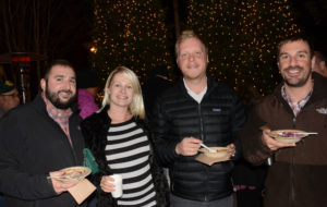 Pictured (LtoR) Grayson Reeder, Wegmans Columbia sous chef; Brandie Reeder, Baltimore area nanny; Brad Hines, Woodberry Kitchen server; and Brandon Curry, University of Maryland Shock Trauma Center administrative assistant