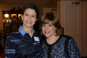 Pictured (LtoR) Melinda Michel, The Associated vice president of women's philanthropy; and Linda Elman, The Associated women's campaign chair