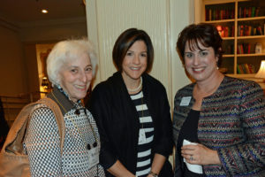 Pictured (LtoR) Berry Sachs, community volunteer; Ellen Katz, Jewish Professional Women co-chair; and Lauren Klein, The Associated assistant vice president