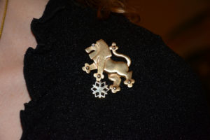 Many of the attendees sported their Lion of Judah pins